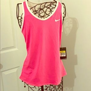 Nike dri-fit tennis top and skirt brand new w tags
